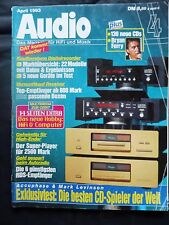 Audio 4/93 Levinson 31, accuphase DP 90, Uher Uma 3000 VT, JVC XD p1 Pro, PARIS RCR