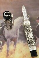 """ROLLERBALL  """"HORSE"""" IN SOLID SILVER 925 URSO LUXURY LIMITED EDITION PEN  175PCS"""
