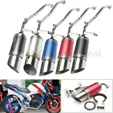 Performance Exhaust System Muffler Short For GY6 50 125cc 150cc Chinese Scooter