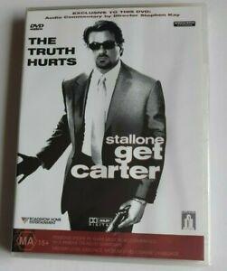 Get Carter Sylvester Stallone PAL DVD R4 NEW SEALED