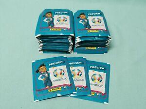 Panini Euro EM 2020 Preview 50 Tüten / 250 Sticker