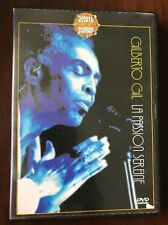 DVD Gil Gilberto la passion sereine Samba Brazil Gaetano Veloso Very Rare EX