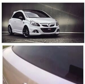 Glass Effect Wiper Delete Gloss Black Bung Grommet Vauxhall Corsa C D E VXR De
