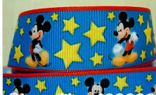 Mickey Mouse and Stars ribbon for cake decorating or scrapbooking