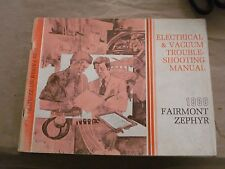 1980 Ford Fairmont Zephyr Electrical Vacuum Troubleshooting Manual OEM