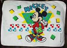 "Mickey Mouse Bath Mat  Disney Bathroom Towel by Franco 26.5"" x 19"" Cotton"
