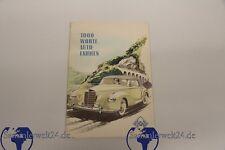 Heft 1000 Worte Auto Fahren Aral mit Anschreibenum 1950