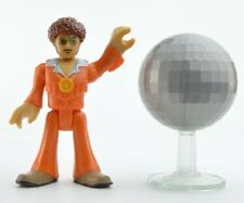 NEW Fisher Price Toy Imaginext Series 7 Figure Retro Disco Dancer Man w Ball