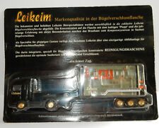 GRELL HO 1/87 CAMION REMORQUE TRUCK TRAILER CONTAINER MB ACTROS LEIKEIM BEER