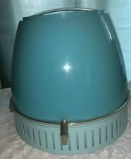Vintage 1960 Lady Schick Deluxe Capri Consolette  Hair Dryer Aqua Blue ~ Tested