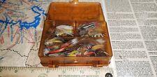 Vintage Fishing Flies (70 Flies) In Micro-Magnum 3214 Box
