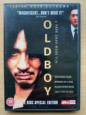 Oldboy DVD 2003 Korean Revenge Thriller Classic Asia Extreme 2-Disc Spec Ed
