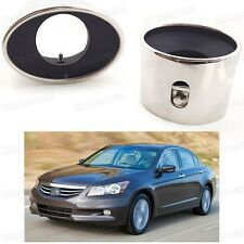 Car Exhaust Muffler Tip Tail Pipe End Trim for Honda Accord Sedan 2008-2012 D083