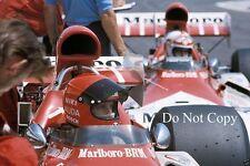 Niki Lauda BRM P160E French Grand Prix 1973 Photograph