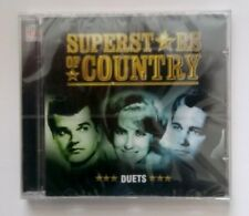SUPERSTARS OF COUNTRY DUETS CD TIME LIFE CASH & CARTER + MORE NEW SEALED