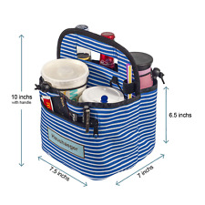 New listing Portable Drink Carrier With Handle For Delivery and Reusable Coffee Cup Holder L