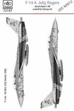 "Hungarian Aero Decals 1/72 GRUMMAN F-14A TOMCAT ""JOLLY ROGERS"" U.S.S. Nimitz"