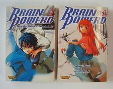 Manga - Brain Powerd (Carlsen, Tb.) Nr. 1-4 kpl. (Z1)