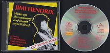 JIMI HENDRIX Woke Up This Morning And Found Myself Dead CD album   Jim Morrison