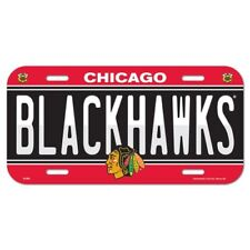CHICAGO BLACKHAWKS ~ Official NHL Team Logo Color License Plate ~ New!
