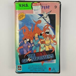 The Real Ghostbusters Volume 9 VHS Tape - Ain't Nasa-Sarily So & Doctor, Doctor