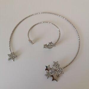 DOROTHY PERKINS star necklace and bracelet set