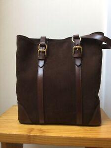 Fairfax & Favor Gatcomb Tote Bag Chocolate new with box