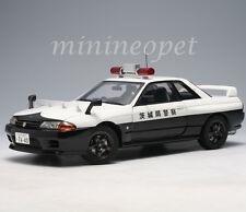 AUTOart 77363 NISSAN SKYLINE GT R R32 IBARAKI KE NKEI JAPANESE POLICE CAR 1/18