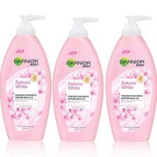 Dhl 3 x 400ml Garnier Sakura White Body Lotion Skin Serum Whitening Moisturizing