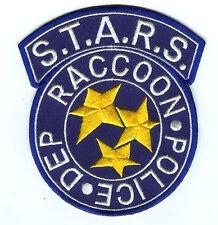 FANCY DRESS HALLOWEEN COSTUME PROP Resident Raccoon City Police Blue S.T.A.R.S.