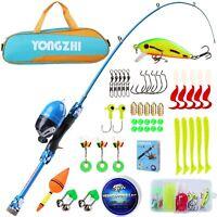 YONGZHI Kids Fishing Pole,Portable Telescopic Fishing Rod and Reel Combo,with