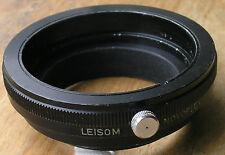 Adattatore lente leisom Novoflex Macro 39mm a 42mm Morsetto Su Step Up