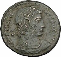CONSTANTINE II Constantine the Great  son  Roman Coin Glory of Army  i40444