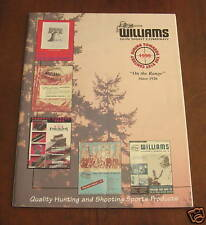 WILLIAMS GUNS SCOPE SIGHT OPTICS 1999 CATALOG
