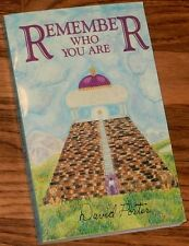 Remember Who You Are SIGNED by DAVID PORTER 1997 1st Edition 1st Printing PB
