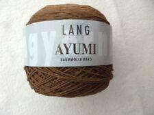 LANG Yarns Ayumi algodón Mako Color 68 TONOS BEIGE