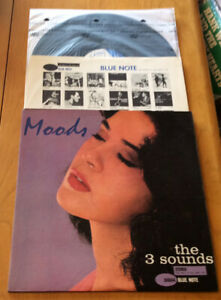 """THE 3 SOUNDS """"MOODS"""". LP . BLUE NOTE 1962 DEEP GROOVE"""