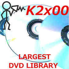 Kurzweil K2000 K2500 K2600, K2661, PC3K8 Largest Sound Program KRZ Library DVD