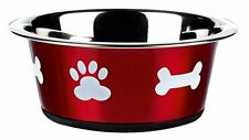 Classic Pet Products S1381R Posh Paws Dish 900 Ml Red