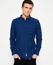 Superdry Shoreditch Button Down Shirt Midnight Blue 3mi X-large