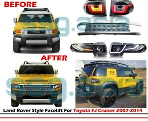 TOYOTA FJ CRUISER FACELIFT (Headlights, Grille and Stop lights)