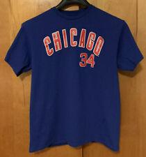 MLB Chicago Cubs Jon Lester 34 L Blue Men's T Shirt