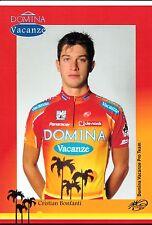 CYCLISME carte cycliste CRISTIAN BONFANTI équipe DOMINA VACANZE 2005