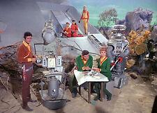 1965's Lost In Space landing site cast gathering color 7x10 portrait