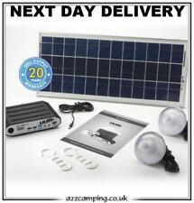 New Solar Powered Hubi 10K Caravan Motorhome Awning Tent Battery Power System