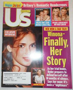US Weekly Magazine Winona Ryder & Naomi Watts October 2002 032415R