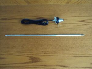Chevy Bel Air Sedan Tri Five Impala Biscayne Antenna Stainless Removable Mast