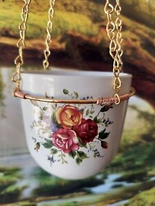 Bird Feeder, Hanging Planter, Ceramic Bowl, Bird Lover, Gift for Dad/Mom