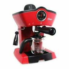 Oster Steam Espresso Cappuccino Maker Red Powerful download steam  110V USA