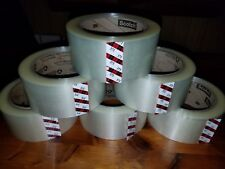 3m 371 Scotch Clear Packaging Tape 2x110yd 48mmx100m Carton Sealing Box Ship